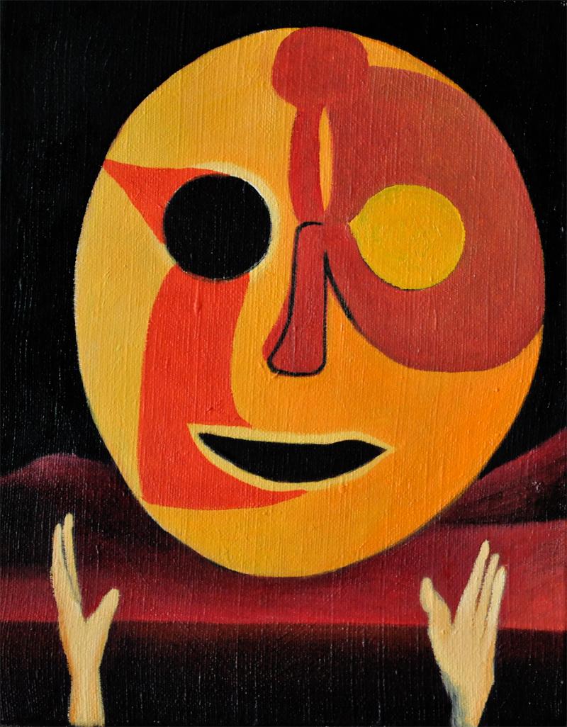 Maska-Słońce 40x30 cm